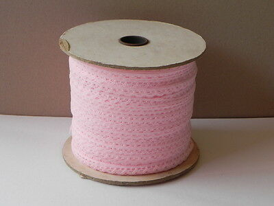 Part Roll of New Pink Lace
