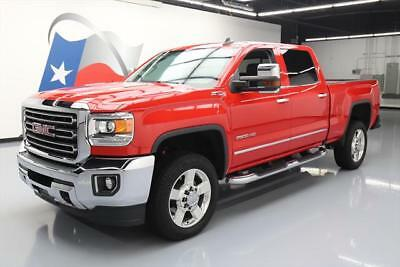 2016 GMC Sierra 2500 SLT Crew Cab Pickup 4-Door 2016 GMC SIERRA 2500 HD Z71 4X4 DIESEL NAV REAR CAM 28K #120415 Texas Direct