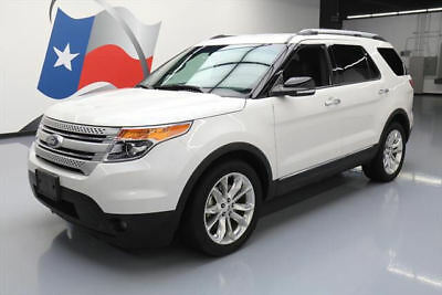 2015 Ford Explorer XLT Sport Utility 4-Door 2015 FORD EXPLORER XLT HTD LEATHER NAV REAR CAM 56K MI #A64178 Texas Direct Auto