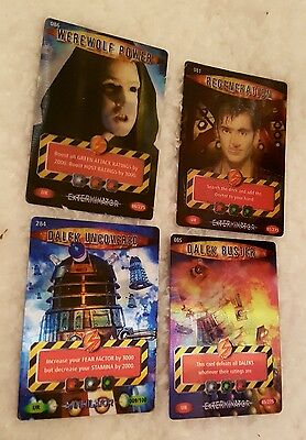 Doctor Who Battles In Time trading cards ULTRA RARE