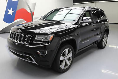 2014 Jeep Grand Cherokee Overland Sport Utility 4-Door 2014 JEEP GRAND CHEROKEE OVERLAND 4X4 PANO NAV 20'S 45K #382405 Texas Direct