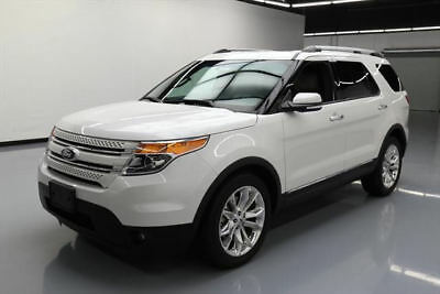 2015 Ford Explorer Limited Sport Utility 4-Door 2015 FORD EXPLORER LTD PANO ROOF NAV LEATHER 20'S 49K #A54384 Texas Direct Auto