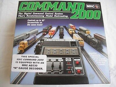 SALE! MRC AD160 Command 2000,DCC Digital Control System,AD330 Decoder,HO N Scale