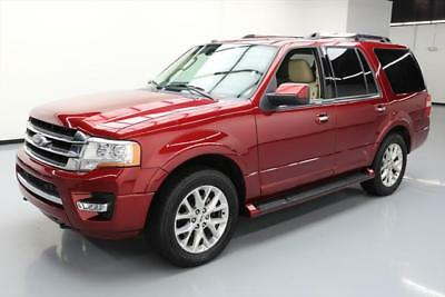 2017 Ford Expedition  2017 FORD EXPEDITION LTD 4X4 ECOBOOST NAV LEATHER 20K #A56177 Texas Direct Auto