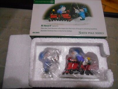 Dept 56 North Pole All Aboard New