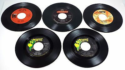 TOM JONES *** I'll Never Fall In Love Again Promo/Delilah/I Who Have Nothing P/S