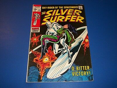 Silver Surfer #11 Silver Age Comic Wow Fine Beauty
