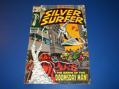 Silver Surfer #13 Silver Age Comic Book Wow