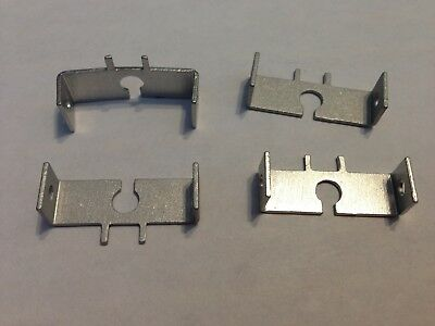 1/32 Revell FOUR MOTOR MOUNTS for #3300 I/L alum slot car chassis SP500 motor