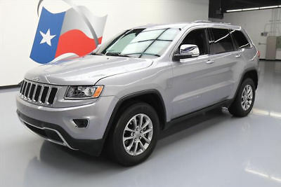 2015 Jeep Grand Cherokee Limited Sport Utility 4-Door 2015 JEEP GRAND CHEROKEE LTD 4X4 LEATHER REAR CAM 43K #818795 Texas Direct Auto