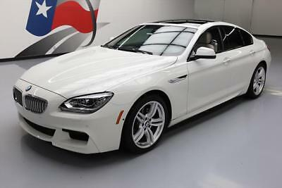 2015 BMW 6-Series  2015 BMW 650I XDRIVE GRAN COUPE AWD M SPORT SUNROOF NAV #760526 Texas Direct
