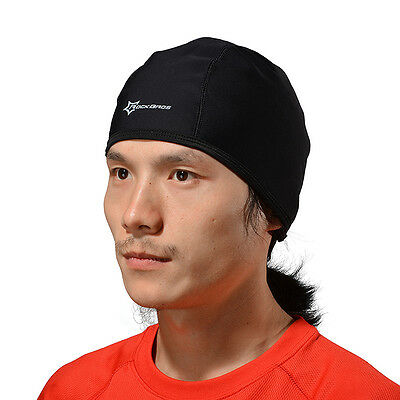 Rockbros Mens Fleece Thermal Bike Windproof Outdoor Sports Cycling Cap Hat