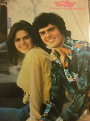 Donny and Marie Osmond, Full Page Vintage Pinup, Osmonds Brothers