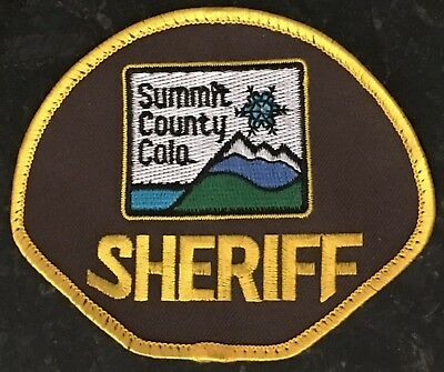Summit County Sheriff - Colorado - USA - Old Style Patch