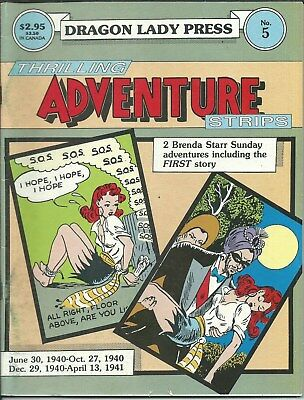 Nr Sale! The Rare... Unique... Or Awesome! ...thrilling Adv. Strips (1986)