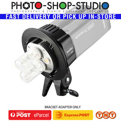 Godox Witstro S-Type Bracket Twin Head Adapter AD-B2 for AD200 Pocket Flash