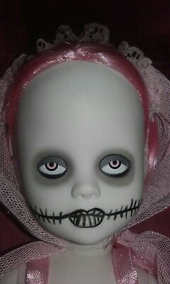 Living Dead Doll Series 28 TINA PINK Still Tied Down Complete