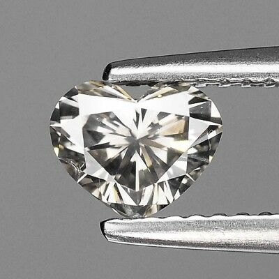 0.70 Cts EXCELLENT RARE SILVER GREY COLOR NATURAL LOOSE DIAMONDS- SI1