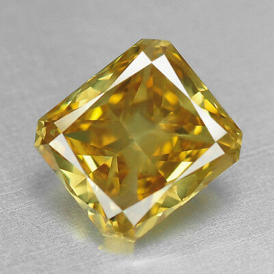 1.52 Cts UNTREATED INTENSE YELLOW COLOR NATURAL LOOSE DIAMONDS