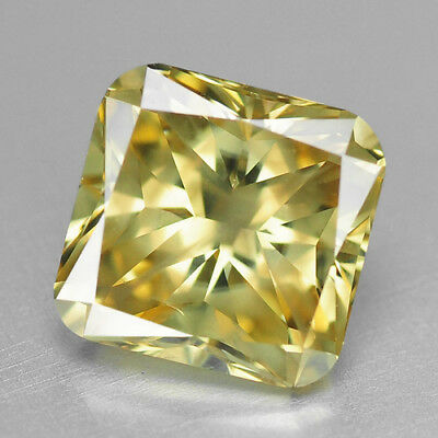 1.63 Cts UNTREATED INTENSE YELLOW COLOR NATURAL LOOSE DIAMONDS- VS2