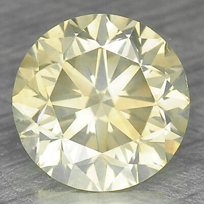 0.75 Cts EXCELLENT RARE YELLOWISH GREEN COLOR NATURAL LOOSE DIAMONDS- SI1