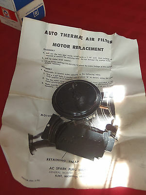 auto thermac air filter motor replacement 6486538
