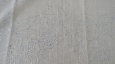 Hobbytex Table Cloth - 110cm sq - as new - not started Leaves and Grapes/Berries