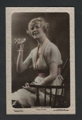 Noted Film Star Margaret Bannerman  .pub Lilywhite.ref Cm 117 Date Unknown