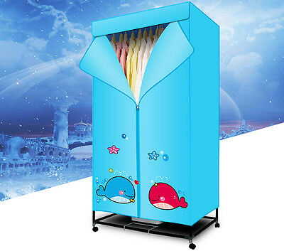 Portable Home Energy-saving Rotary Control Panel Electric Air Clothes Dryer ***
