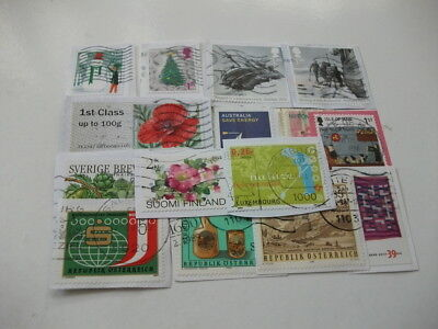 World Charity Kiloware Good Basic Mixture Includes Recent Stamps 455 Grams