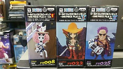 Official Banpresto Prize One Piece World Collectible Figure Film Z Set of 3