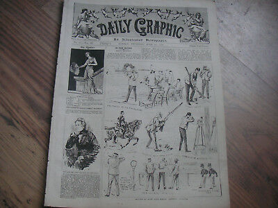 Daily Graphic July 17th 1890