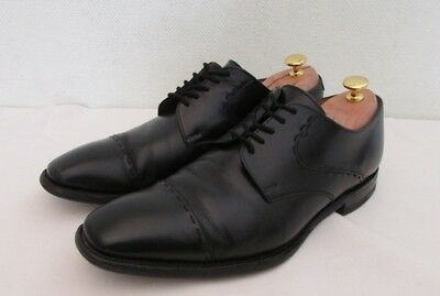Cheaney 'Rory' Men's Black Leather Lace Up Formal Shoes  UK 9  G EU 43 Standard