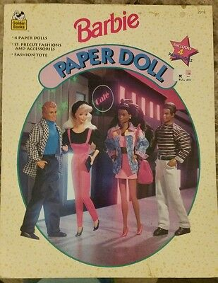 1994 Barbie Paper Doll- Golden Books #2018