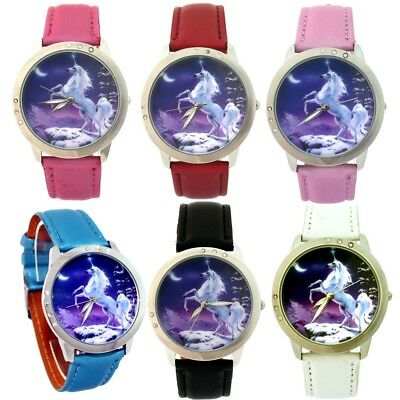 12PCS Mixed Women 's Children Watches Fashion Leather Quartz Wrist Watch L36CM