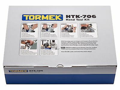 Save 10% Now: TORMEK HTK-706 HandTool Jigs Kit - Now Includes SVM-00 - Brand New