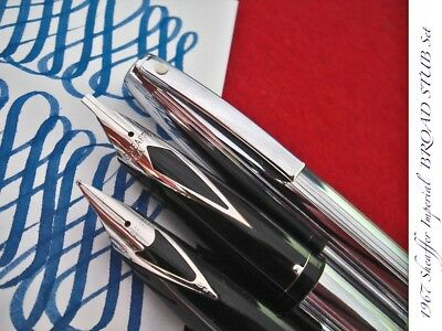 1967 Sheaffer Stub Bbb Broad Imperial Nos Ultra Rare Mint Vintage Fountain Pen