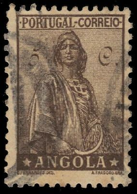 ANGOLA 244 (Mi234) - Ceres Keyplate Definitive (pa14734)