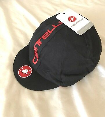 Brand New Castelli Retro Cycling Cap