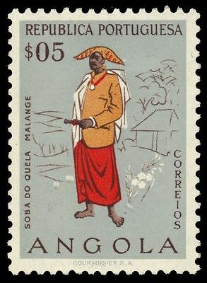 ANGOLA 395 (Mi401) - Traditional Malange Man (pf83101)