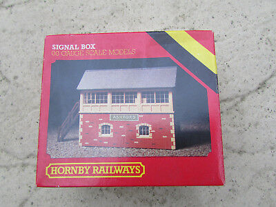 Hornby 00 Gauge Signal Box Kit,r503,boxed And Unbuilt,railway