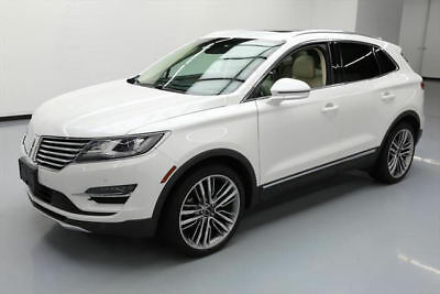 2015 Lincoln MKC Base Sport Utility 4-Door 2015 LINCOLN MKC AWD ECOBOOST TECH PANO ROOF NAV 35K MI #J10355 Texas Direct