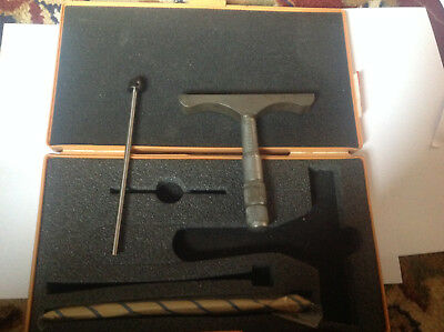 Boxed Moore & Wright Depth Micrometer