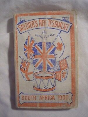 British Army Boer War South Africa Testament 1900 Military Religious History