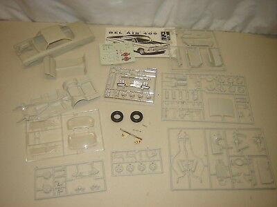 Model Kit PARTS 1962 CHEVY BEL AIR 1/25 As Pictured