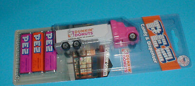 2016 Pez Dunkin Donuts Semi Truck Candy Dispenseer Collectible  Mip