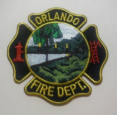 """Old Orlando Florida Fire Department 3"""" Patch Unused"""