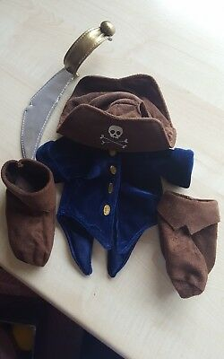 Walt Disney Pal Mickey Mouse Pirate Outfit Costume