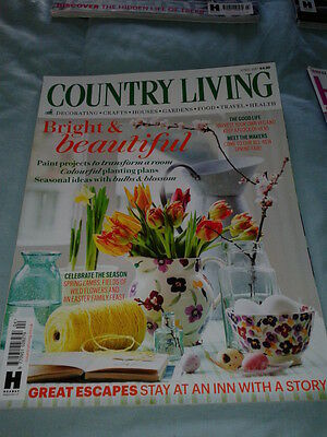 Country Living Magazine, April 2017