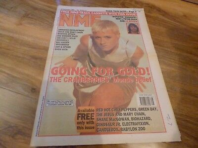 Nme - 24/9/94, The Cranberries / The Jesus And Mary Chain / R.e.m. / Sven Vath